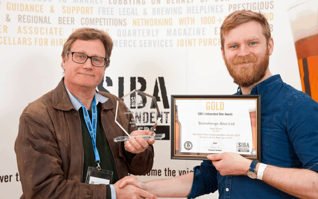 Another Gold Award from SIBA