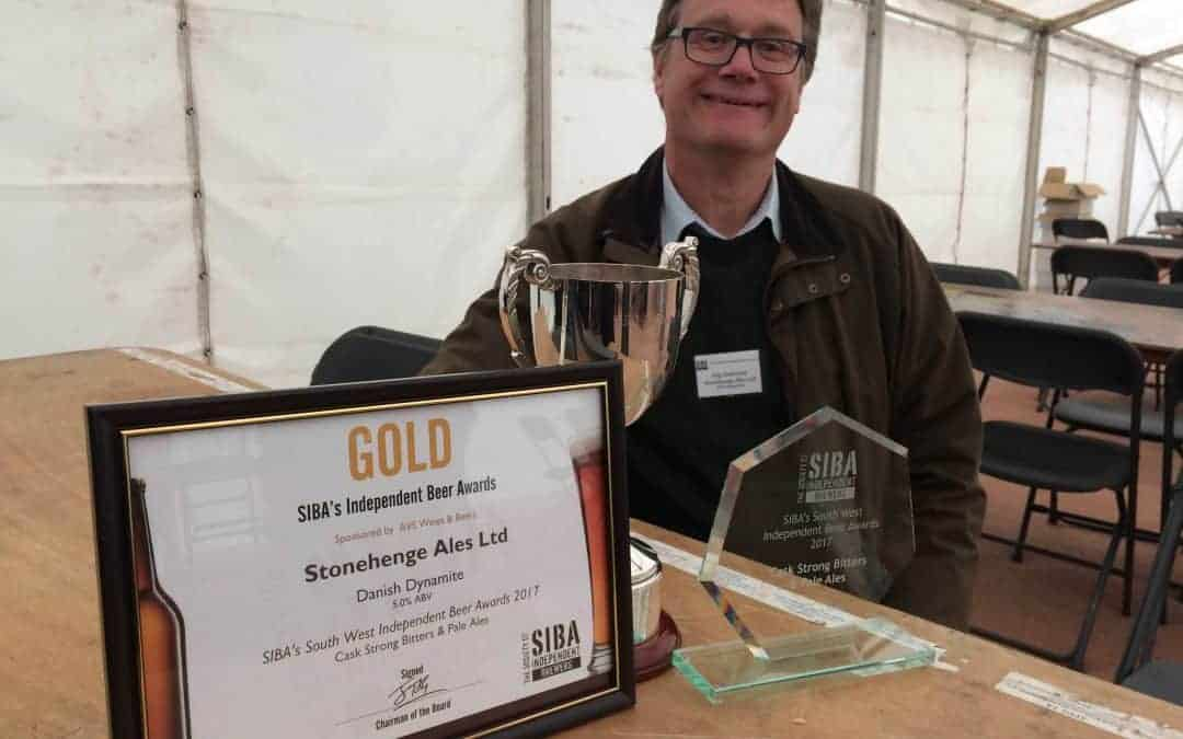 GOLD AWARD AT TUCKERS MALTINGS BEER FEST!