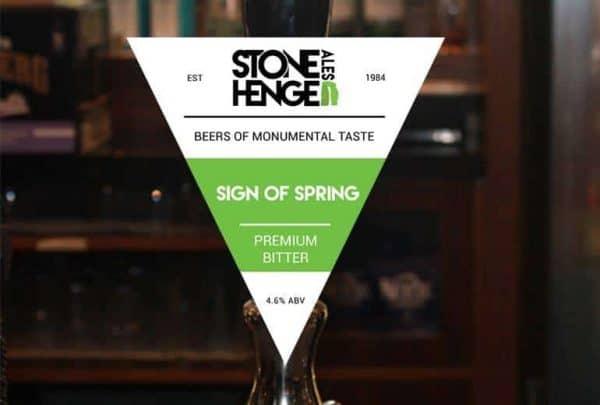 sign of spring beer